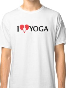 I Love Yoga Classic T-Shirt