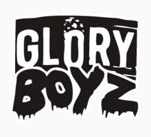 GLORY BOYZ ENTERTAINMENT BLACK LOGO SHIRT by Ashar Wallace