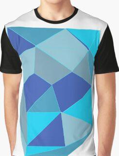 Ocean Geometric Graphic T-Shirt