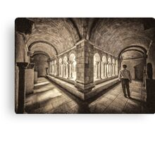 Exploring Cloisters (VG) Canvas Print
