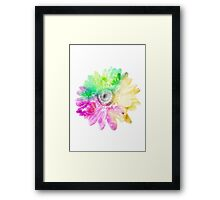 Abstract Flower 1 Framed Print