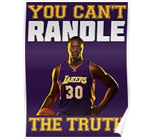 You Can't Randle The Truth Poster