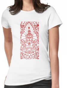 Lotus - Cambodia Womens Fitted T-Shirt