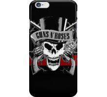 gun roses iPhone Case/Skin