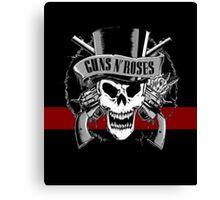 gun roses Canvas Print