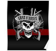 gun roses Poster