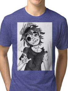 0 murdoc Tri-blend T-Shirt
