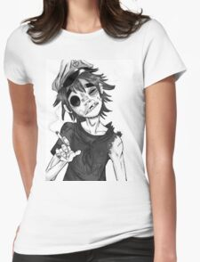 0 murdoc Womens Fitted T-Shirt