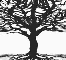 World Religions Unity Tree of Life Sticker