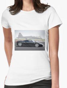 Ferrari Enzo 'Air Musuem' I Womens Fitted T-Shirt