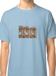 Ephesus - Library Facade Classic T-Shirt