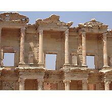 Ephesus - Library Facade Photographic Print