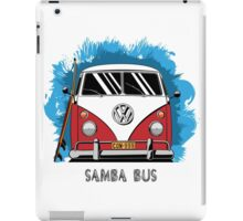 VW T1 Samba Bus (red) iPad Case/Skin