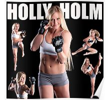 HOLLY HOLM UFC Poster