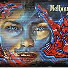 Melbourne Street Art  #123 by bekyimage