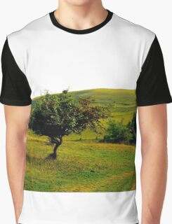 The Lonely Tree Graphic T-Shirt