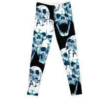 A Faith of Skulls Leggings