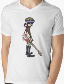 gorillaz noodle Mens V-Neck T-Shirt