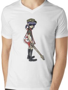 gorillaz noodle Mens V-Neck T-Shirt