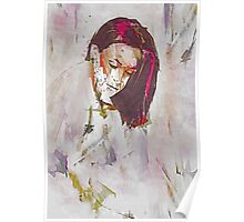 Collections Contemporary Abstract Portrait Poster