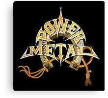 power metal Canvas Print