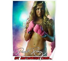 RONDA ROUSEY UFC Poster