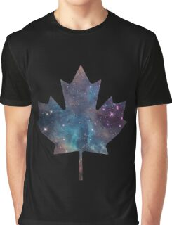 Maple Leaf Nebula Graphic T-Shirt