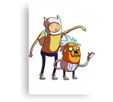 rick and morty adventure Canvas Print