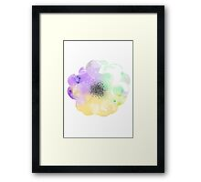 Abstract Flower 2 Framed Print