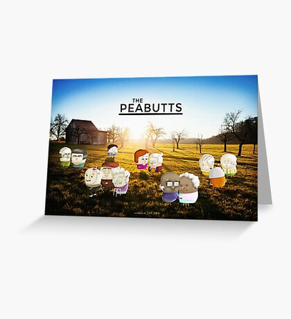 The Peabutts Greeting Card