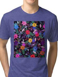 Floral 3 Tri-blend T-Shirt