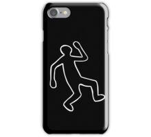 Crime Scene Body Outline iPhone Case/Skin
