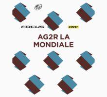 AG2R La Mondiale Kit 2016 by Total-Cult