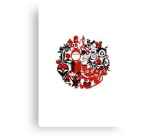 Japan Geek Canvas Print