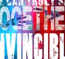 Muse Invincible Sticker
