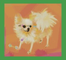 Dog Chihuahua Orange One Piece - Short Sleeve