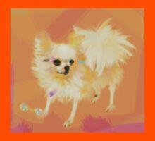 Dog Chihuahua Orange Kids Tee