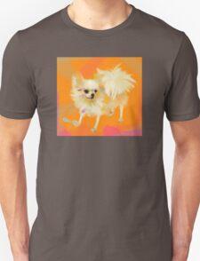 Dog Chihuahua Orange Unisex T-Shirt