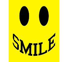 Smile Face Photographic Print