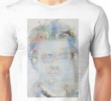 GUSTAV MAHLER - watercolor portrait Unisex T-Shirt