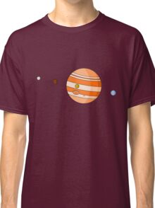 Cartoon Jupiter Planet Classic T-Shirt