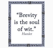 Brevity Is the Soul of Wit - Shakespeare Baby Tee