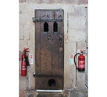 Surprised Door (with must read Description) Photographic Print