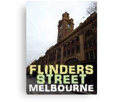Flinders Street Station Melbourne Canvas Print