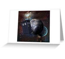Time Flight 2 Greeting Card