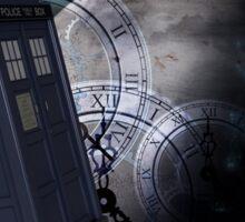 Time Flight 2 Sticker