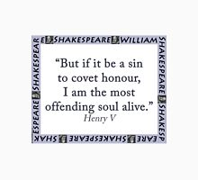 But If It Be A Sin - Shakespeare T-Shirt