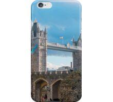 Tower Bridge London in Winter iPhone Case/Skin
