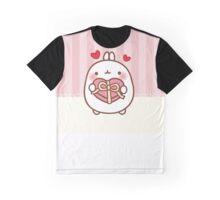 kawaii molang valentine Graphic T-Shirt