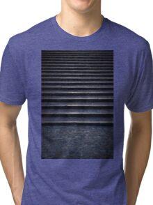 Dark stone stairs  Tri-blend T-Shirt